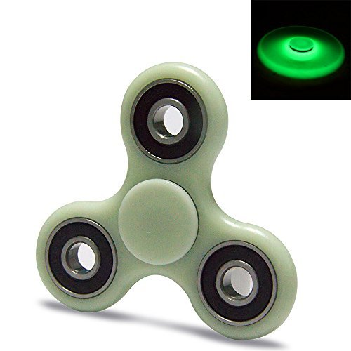 AEROFPY  High Speed Fidget 360 Spinner Toy For Relieves Stress And Anxiety-Reducer ADHD Anxiety and Boredom Ceramic Cube Bearing (Gray)