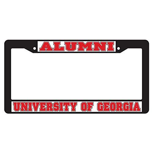 Craftique Georgia Bulldogs Plate Frame (Black Plate Frame GA Alumni (04335))