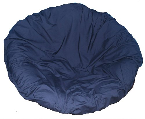 Navy Papasan Cushion Cover (Cushion Papasan Cover)