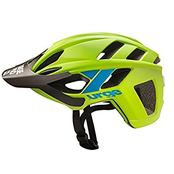 Urge ubp18504l Casco de Bicicleta de Montaña Unisex, Verde/Azul, L/XL