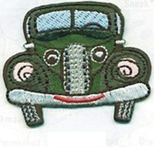 40s 50s Old Fashion Antique Classic Sedan Car Vehicle Embroidery Applique Patch ()