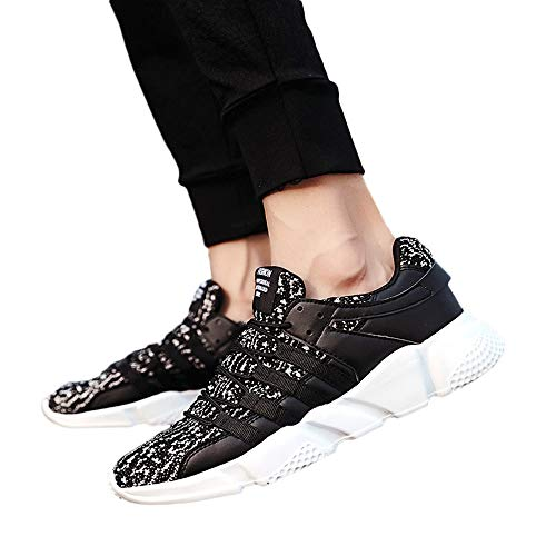 Mesh Metal Wristlet (Todaies Casual Men¡s Lace-Up Sport Running Shoes Wear Resistant Mesh Breathable Sneaker)