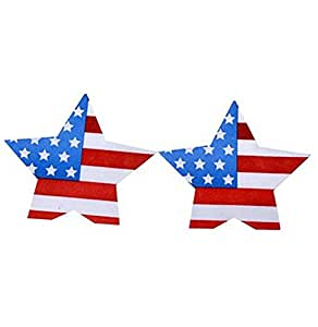 20pcs Disposable Sexy Nipple Cover USA Flag Women Nipple Sticker Lingerie Pasties