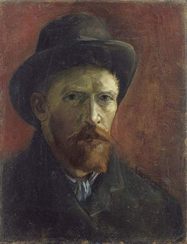 Vincent Van Gogh Self-Portrait with Felt Hat Van Gogh Museum 30