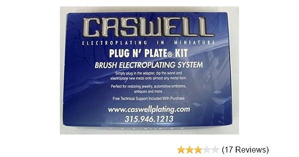 Caswell Plug N' Plate Copy Chrome Electroplating Kit