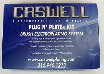Caswell Plug N' Plate Nickel Electroplating Kit