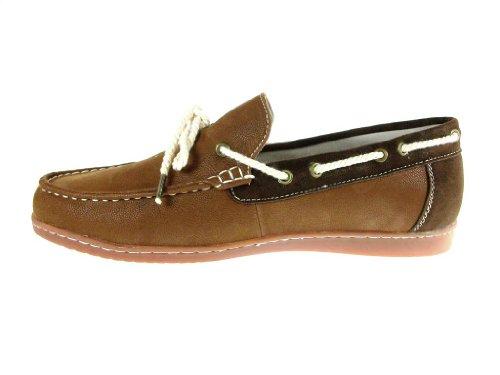 Mensenschort Casual Das Mocassin Driver Loafer Schoenen Cognac / Bruin