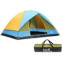 Camp Solutions 6 Person Dome Family Tents for Camping,...