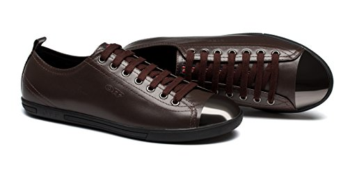 OPP para Zapatos Cordones Hombre Piel Marrón de de f8zqFfUB