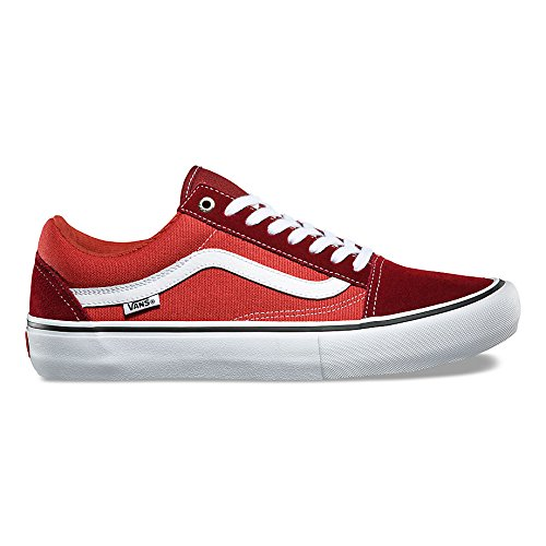 8764d2212e6 Galleon - Vans Mens Old Skool Pro Skate Shoe (Madder Cinnabar