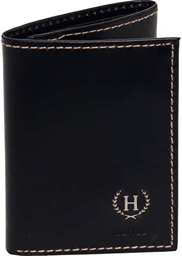Tommy Hilfiger Men's Hove Trifold Wallet (Black)