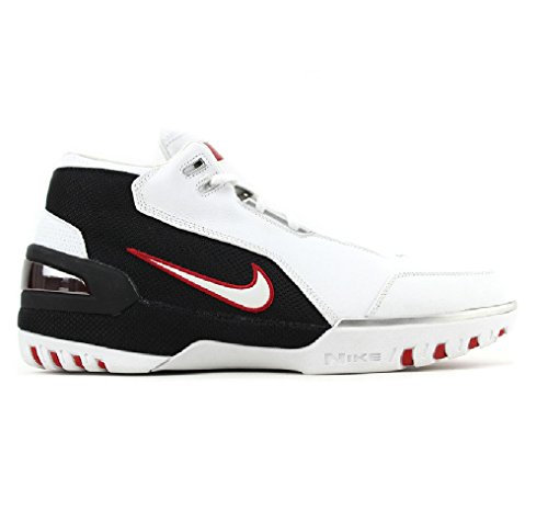 Nike-Lebron-I-1-White-Crimson-Black-2004-308214-111-US-Size-9