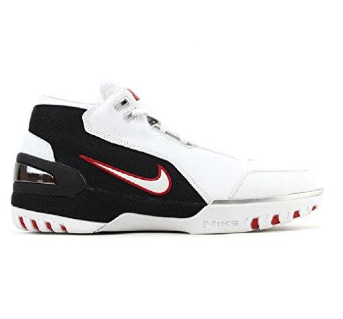 Nike Lebron I 1 Wit Karmozijnrood Zwart 2004 308214-111 Us Maat 9