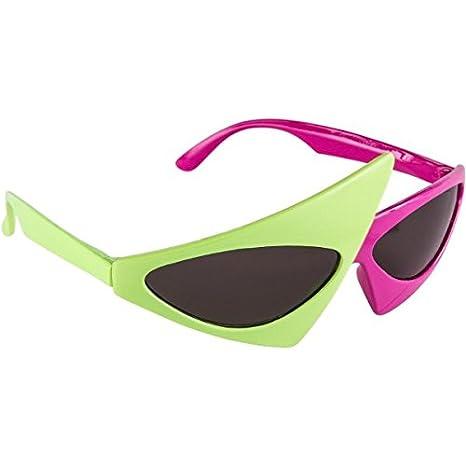 Amazon.com: KEKLLE - Gafas asimétricas para fiesta de los 80 ...