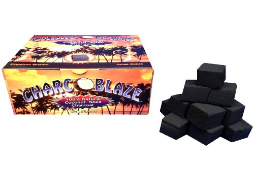 Charcoblaze Hookah Charcoal 108 Pieces Large Coconut by Charcoblaze