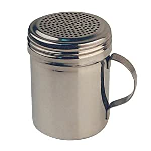 4 X Winware Stainless Steel Dredges 10-Ounce with Handle