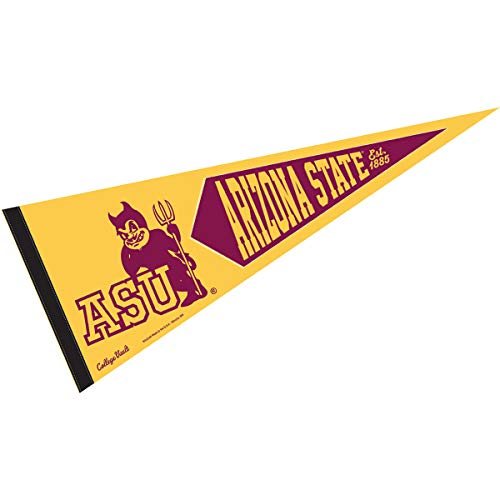 College Flags and Banners Co. Arizona State Sun Devils Vintage Vault Retro 12