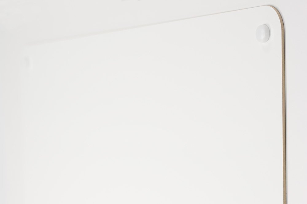 """24"""" X 36"""" Dry Erase Board Wall Mounted with Smooth Rounded Corners and Installation Hardware"""