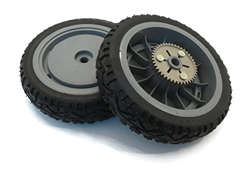 Gear Drive Tractor - (2) Genuine OEM Toro Drive Wheels Gears for Super Recycler Push Lawn Mower