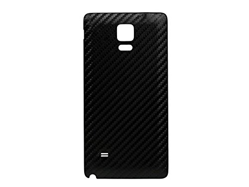 finest selection c8a2d 57f16 Carbon Fiber Battery Cover Door Back Housing Replacement for Samsung Galaxy  Note 4-Black