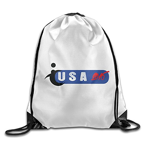 Price comparison product image YesYouGO Usa Beach Volley Around The World Unisex Drawstring Backpacks / Bags