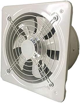 Extractor de ventilación industrial Extractor axial de metal ...
