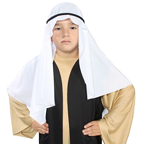 [Alexanders Costumes Story of Christ Biblical Mantle/Headpiece Child Costume] (Shepherd Child Costumes)