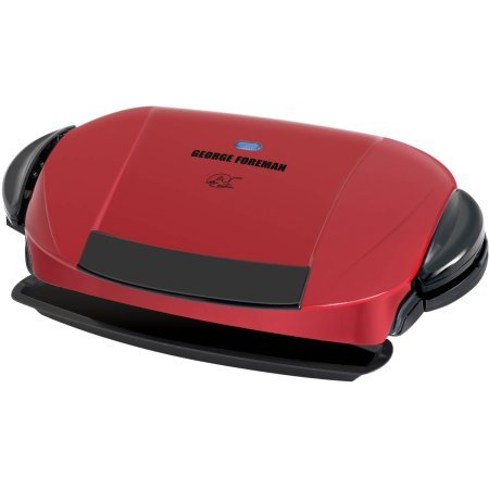 George Foreman 5-Serving Grill with Removable Plates, Red, GRP0004R by George Foreman Grillls (Image #7)