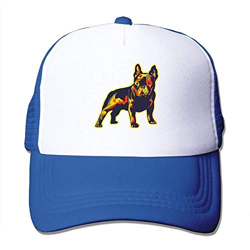Two French Adjustable longkouishilong Gorras béisbol Hat Hat Tone Trucker Bulldog Mesh EnwRqwZP