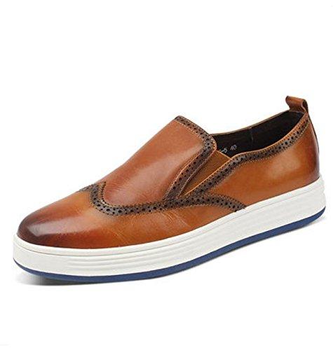 Brock tallada zapatos de deporte/Tendencia de UK de zapatos casual hombres A