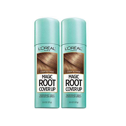 L'Oreal Paris Hair Color Root Cover Up Hair Dye, Dark Blonde, 2 Ounce (Pack of 2) (Packaging May Vary)