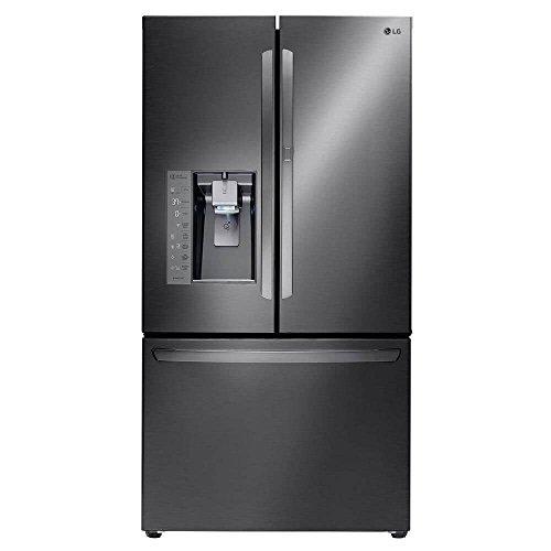 Lg - 29.6 Cu. Ft. Door-in-door French Door Refrigerator - Bl
