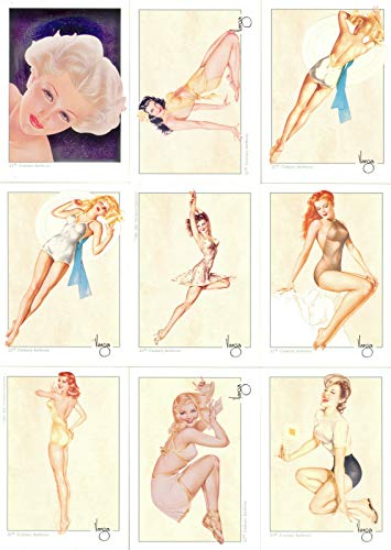 VARGAS PIN-UP GIRLS SERIES 1 1992 21ST CENTURY ARCHIVES BASE CARD SET OF 50 FA