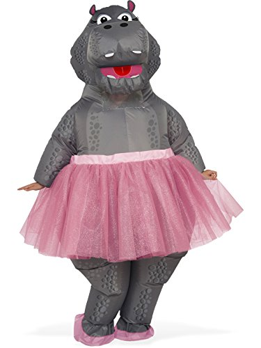 Rubie's Inflatable Hippo Adult Costume, As Shown, One Size ()
