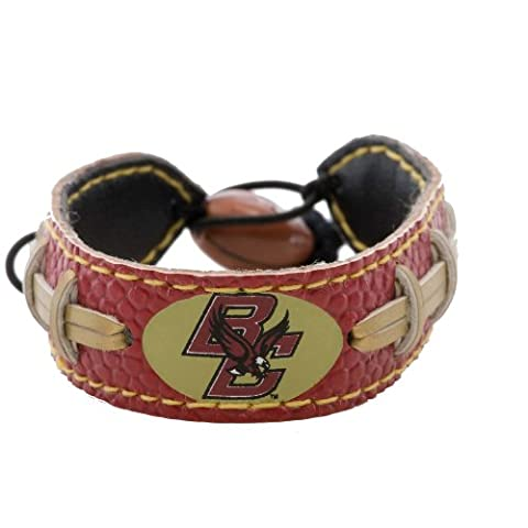 NCAA Boston College Eagles Team Color Football Bracelet - Gamewear Sports Bracelet