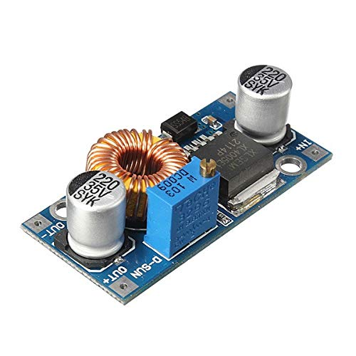 3Pcs Davitu 5A XL4005 DC-DC Adjustable Step Down Module Power Supply Converter - Arduino Compatible SCM & DIY Kits by Davitu Module Board (Image #1)