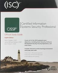 CISSP Study Guide - fully updated for the 2018 CISSP Body of Knowledge CISSP (ISC)2 Certified Information Systems Security Professional Official Study Guide, 8th Editionhas been completely updated for the latest 2018 CISSP Body of Knowledge...