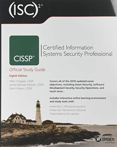 (ISC)2 CISSP Certified Information Systems Security Professional Official Study Guide (Best Cissp Study Guide)