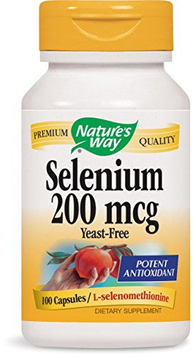 Nature's Way Selenium, 100 Capsules (Pack of 2)