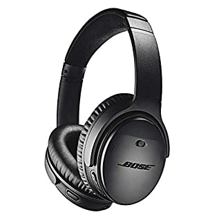 Bose QuietComfort 35 II Wireless Bluetooth Headphones, Noise-Cancelling, with Alexa voice control, enabled with Bose AR - Black (B0756CYWWD) | Amazon Products