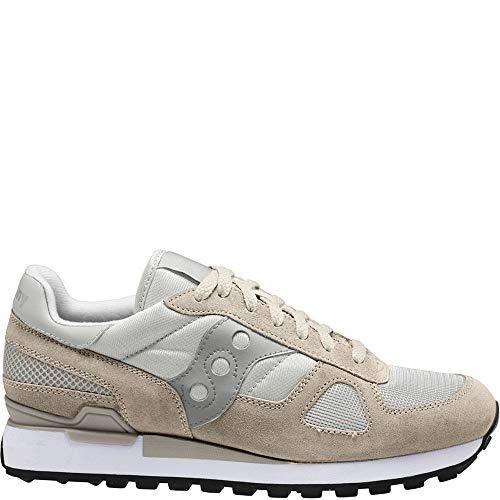 Saucony Shadow Original, mens Running Running Shoes, White (Off White), 3 UK (36 EU)
