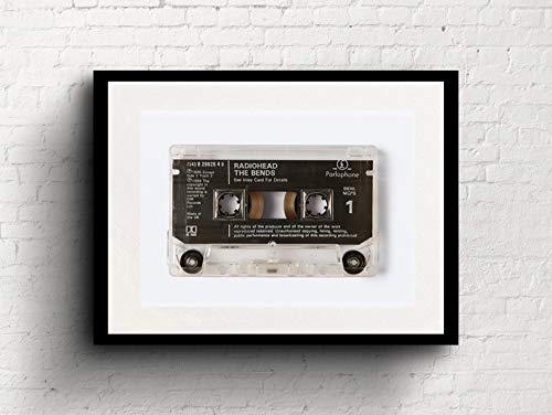 Radiohead - The Bends - Cassette Print
