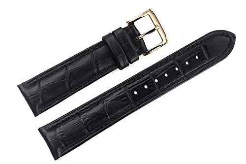 18mm-black-high-end-italian-leather-watch-straps-bands-replacement-with-golden-pin-buckle-for-luxury