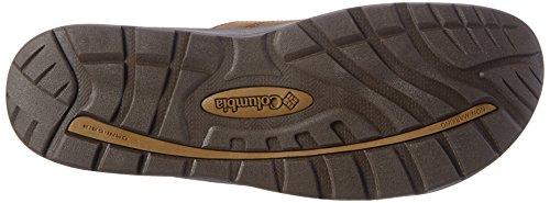 Columbia II Mens Manarola Rubber Leather Casual Sandals Tobacco Columbia Mens rIrRvq