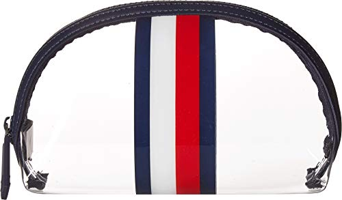 Tommy Hilfiger Women's Dome Cosmetic Bag Navy/Multi One Size