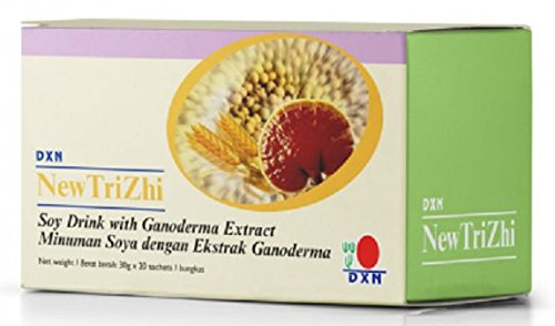 MUST BUY ! 15 Box DXN NewTriZhi Soy Drink with Ganoderma Extract ( Total : 300 sachets x 30 g ) by DXN