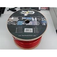 Avox PC0050RD Power Wire, 50-Feet ( Red)
