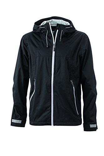 Softshell Men's Condizioni Ultraleggera Giacca Meteorologiche A Adatta Black silver Jacket Outdoor Estreme RdwS0