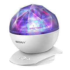 Diamond projector is a novel decompression leisure projection lamp;  it can cast a lifelike aurora borealis on ceiling or wall in darkness.  Create an enjoyable and relaxing bedtime experience for children.  Also perfect for adults to create ...