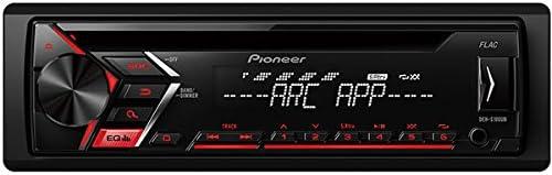 Pioneer DEH-S100UB Autorradio, Rojo